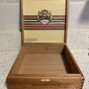 Vintage Limited Edition Wooden Ashton Cabinet Cigar Boxes (set of two) for Sale in Phoenix, AZ