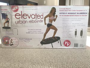 Elevated Urban Rebounder exercise equipment for Sale in NO POTOMAC, MD