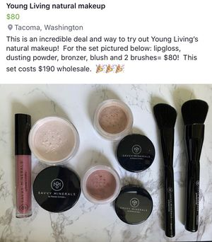 NEW!! Young Living makeup bundle for Sale in Ruston, WA