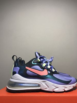 """Nike Air Max 270 React """"Sunblush"""" Smoke Grey CU4818-001 Women's Size 6.5 Men's 5 NEW DS for Sale in Huntersville, NC"""