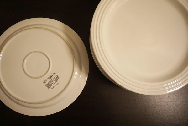 Le creuset dinnerware set made in france
