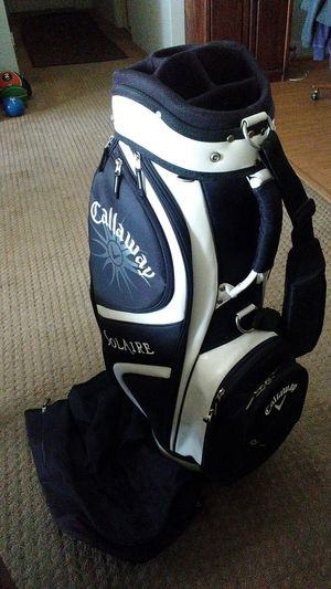 Callaway Solaire Golf Bag 10 Pockets 9 Way Cart Bag for Sale in Palm Springs, CA