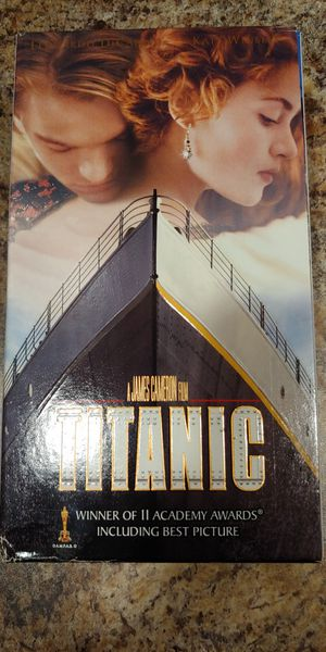 Titanic VHS for Sale in Ridley Park, PA