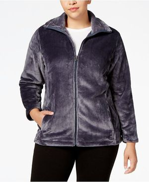 Size 2X - Plus Size Lux Fleece Athletic Jacket by Ideology for Sale in Fountain Valley, CA
