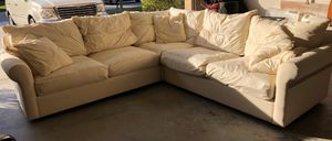 Sectional couch with slipcover for Sale in St. Cloud, FL