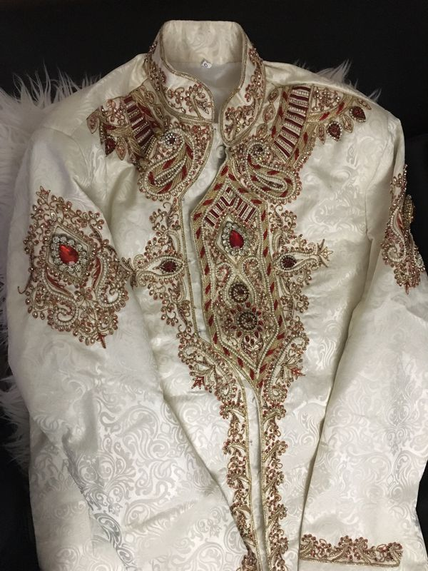 Indian Pakistani wedding sherwani suit