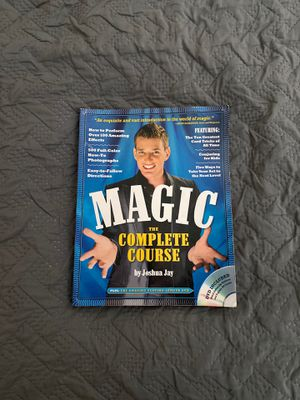 (Book) Magic the Complete Course by Joshua Jay for Sale in Baltimore, MD