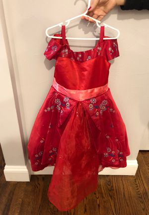 Disney Elena dress from Disney store costume for Sale in Chicago, IL