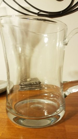 Large clear glass pitcher for Sale in Chicago, IL