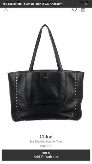 Authentic Chloe Isa tote handbag for Sale in Springfield, VA
