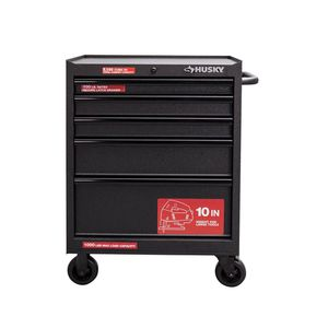 HUSKY 27 in. W 5-Drawer Rolling Cabinet Tool Chest in Textured Black for Sale in Frederick, MD