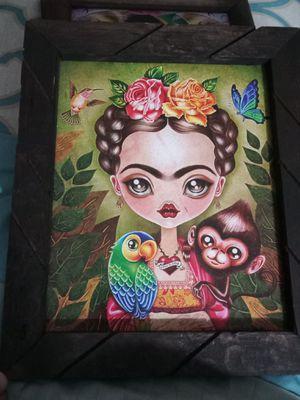 Frida Kahlo Picture Frame for Sale in Santa Fe Springs, CA