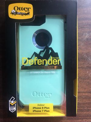 Otterbox defender for Apple iPhone 7/8 Plus mint for Sale in Sunnyvale, CA