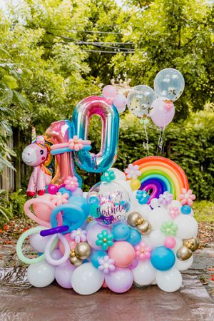 Birthday Balloon Bouquet for Sale in Miami, FL