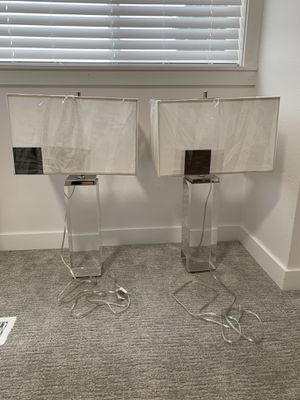 Brand new Restoration hardware lamps 500$ for both for Sale in Kent, WA