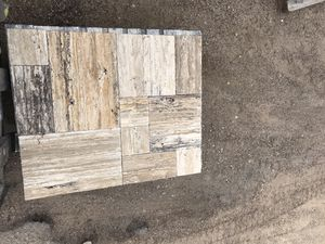 travertine stone vein cut Versailles pattern chiseled edge The pattern for Sale in Dallas, TX