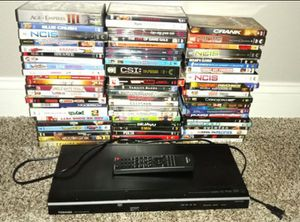 Toshiba DVD Player + Movies for Sale in Temecula, CA