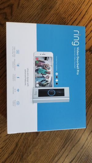 RING Video Doorbell Pro for Sale in Brentwood, TN
