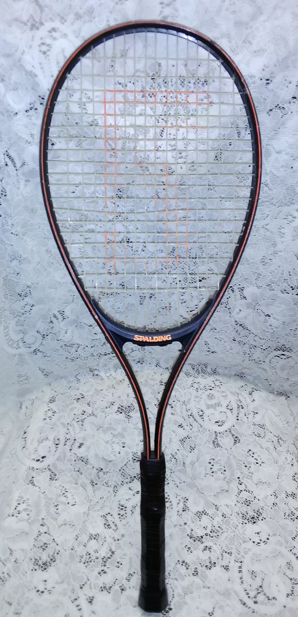 Wilson and Spalding Tennis Rackets