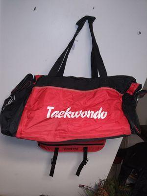 Duffle bag gym bag taekwondo for Sale in Redford Charter Township, MI