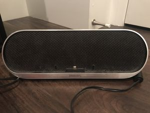 Philips Docking Speaker (Lightning Connector/Bluetooth) for Sale in Los Angeles, CA
