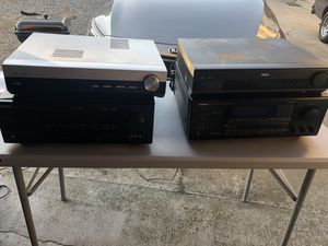Home entertainment/receivers lot of 4 for Sale in Fresno, CA