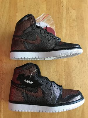 Brand new Nike air Jordan 1 high og fearless shoes women's 5, 7, 7.5, 10, men's 3.5, 5.5, 6, 8.5 for Sale in La Mesa, CA
