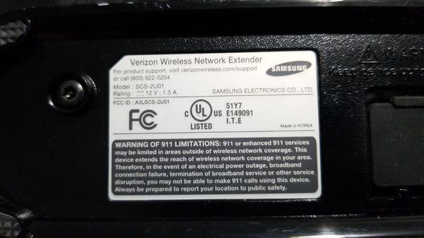 Verizon Wireless Network Extender with High Gain Antenna