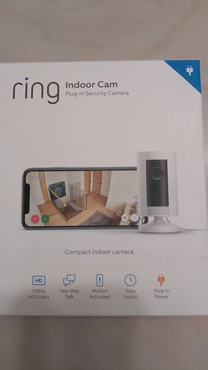 RING INDOOR CAM for Sale in Midland, TX