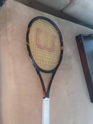 WILSON TENNIS RACKET - BURN for Sale in Holly Springs, NC