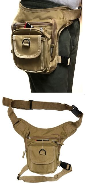 Brand NEW! Tan Waist/Hip/Thigh/Leg Holster/Pouch/Bag For Traveling/Hiking/Fishing/Camping/Biking/Outdoors/Gifts $13 for Sale in Carson, CA