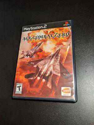 Ace combat zero the belkan war PS2 for Sale in Sacramento, CA