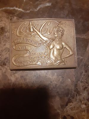 brass antique buckle for Sale in San Leandro, CA