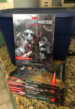 7 Dungeons and dragons books for Sale in Scottsdale, AZ
