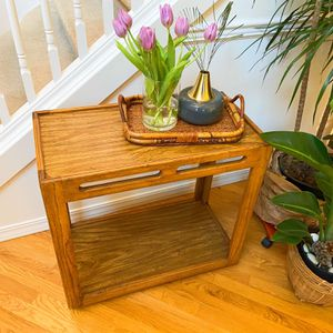 Vintage MCM Oak Entry Table/ Table Stand for Sale in Kent, WA