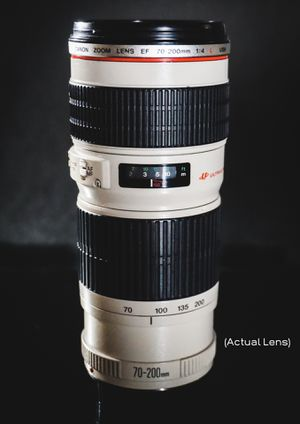 Canon EF 70-200mm f/4L USM for Sale in Fort Lauderdale, FL