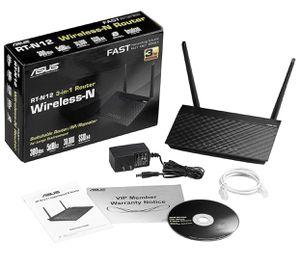 Asus RT-12N Wireless Router 3-in-1 for Sale in Anaheim, CA
