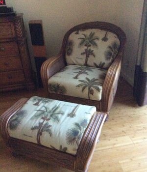 Chair and Ottoman for Sale in Jupiter, FL