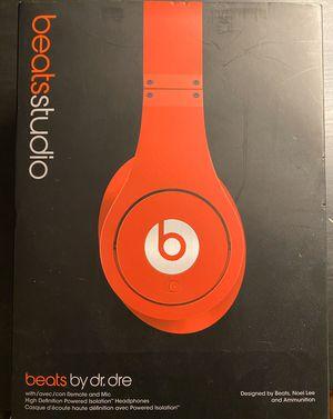 Beats Studio headphones by dr.dre (Excellent Condition) for Sale in HOFFMAN EST, IL
