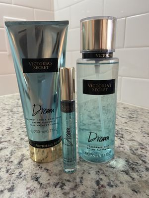 Dream body cream, perfume rollerball and splash for Sale in Johns Island, SC