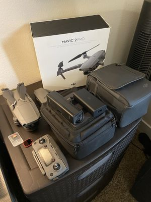 Dji mavic 2 pro + fly more kit & nd filter for Sale in Costa Mesa, CA