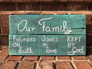 Family sign for Sale in Durham, NC