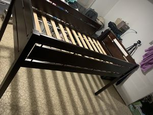 Twin Size Trundle Bed (Espresso) for Sale in Lake Shore, MD