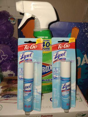 Lysol disinfectant sprays for Sale in Centreville, VA