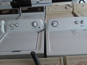 Amana washer and dryer set for Sale in Columbus, OH