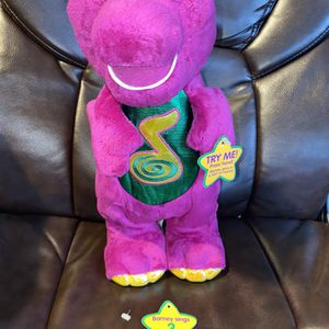 Barney the Dinosaur - DINO DANCE - Fisher Price, Animated Singing Dancing, 2002 for Sale in El Monte, CA