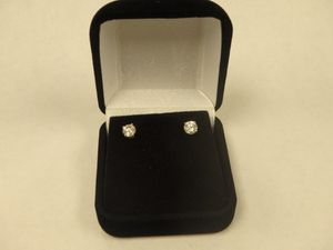 14k Yellow Gold Diamond Studs Earrings for Sale in CO, US