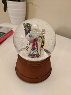 Christmas Santa Music Snow Globe for Sale in Chicago, IL
