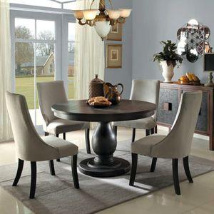 Dandelion Gray Round Dining Set for Sale in Arlington, VA