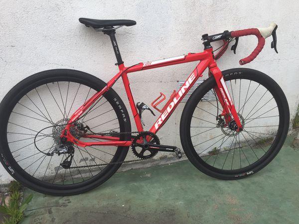 Redline Conquest CX Gravel Bike 48cm extra wheelset